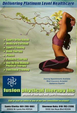 Fusion Physical Therapy, Inc quarter page ad