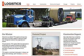 TTSI Logistics website