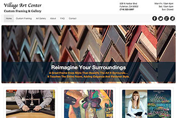 Village Art Center website