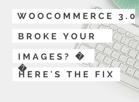 Updating to WooCommerce 3.0 Broke Your Image Gallery? ? Here's the Fix