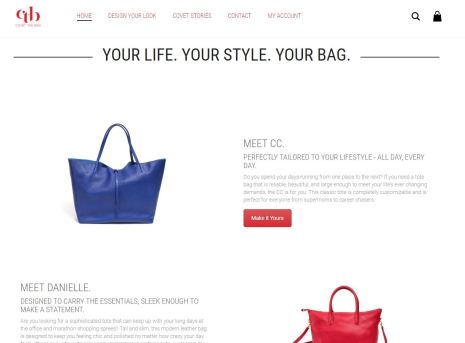 Covet the Bag Website