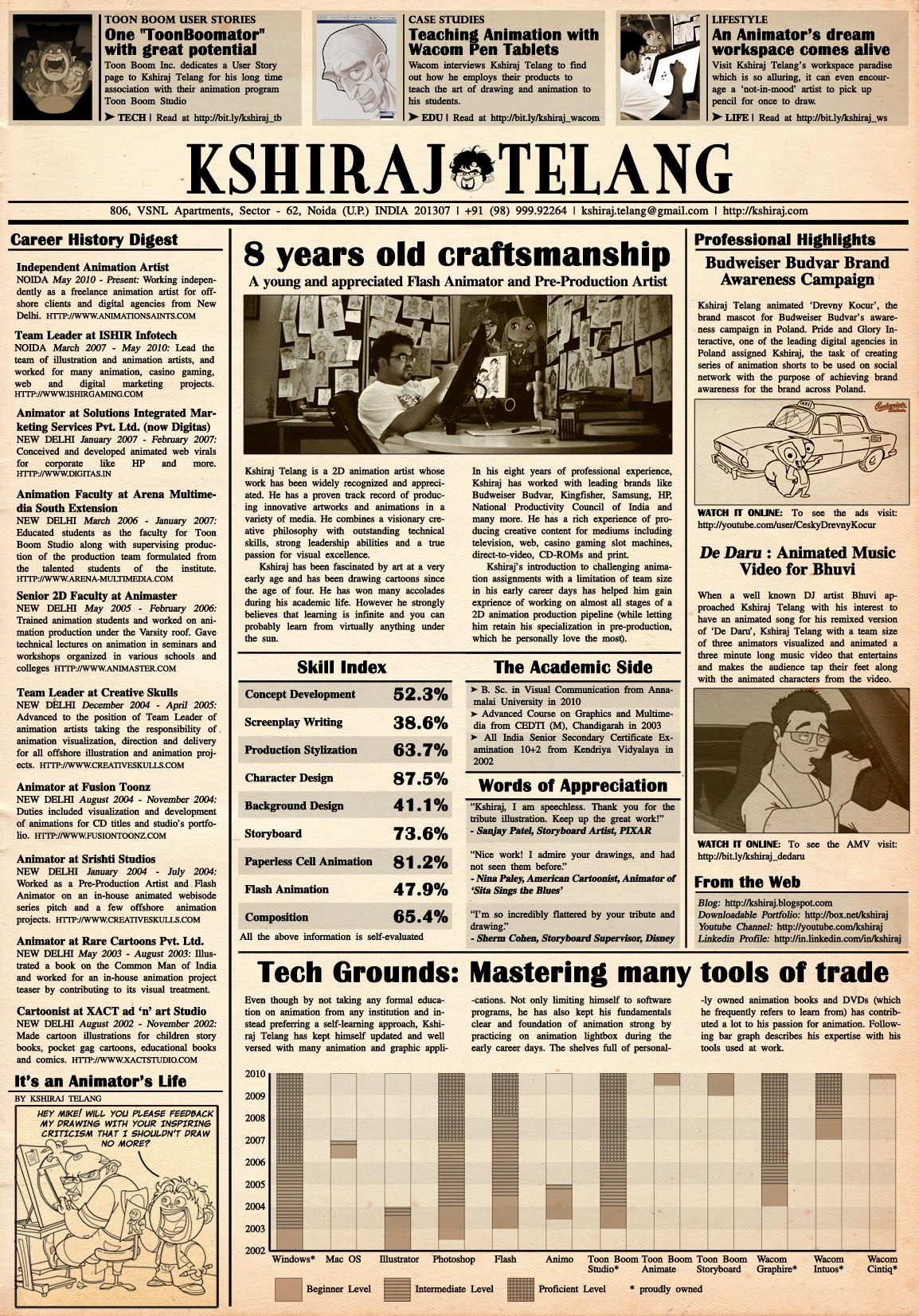 Old Newspaper Template