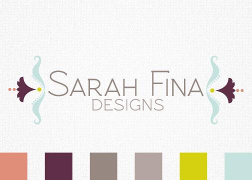 Sarahfina Designs Logo
