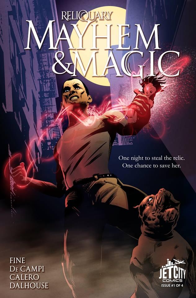 Book Cover: Mayhem & Magic