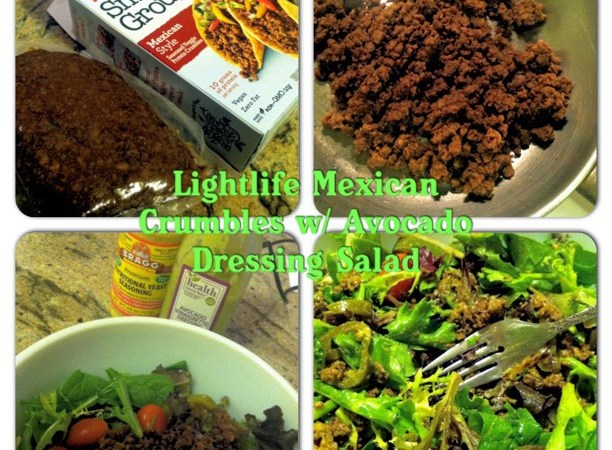 Lightlife Smart Ground Mexican Style Salad
