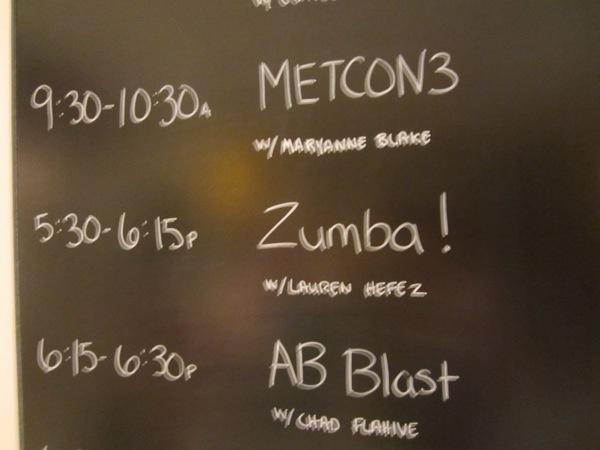 Outside My Comfort Zone: Zumba Class