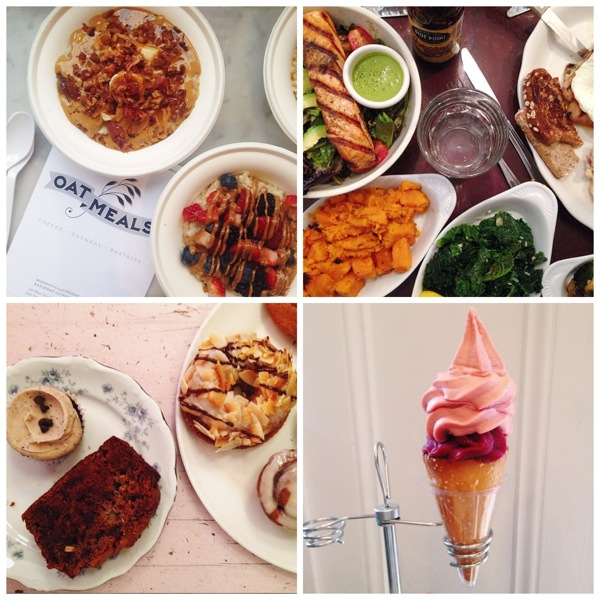 Foods collage