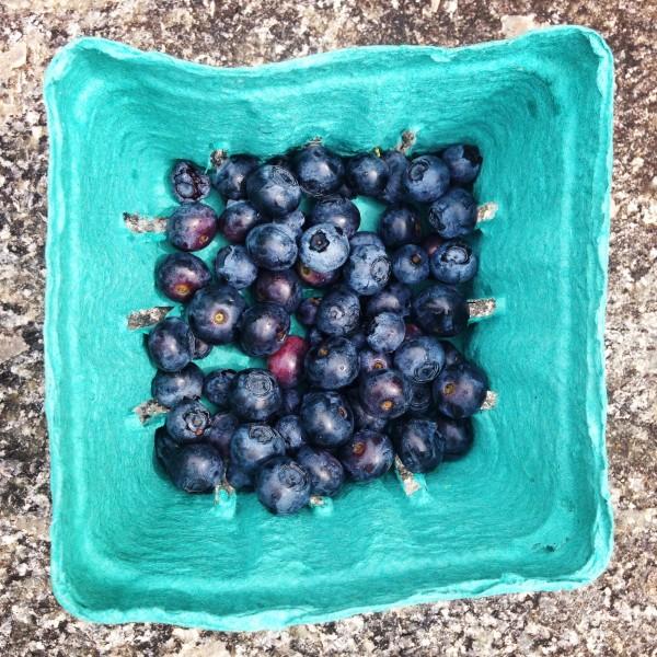 Eat organic berries to avoid harmful pesticide residue.