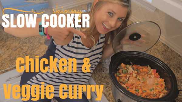 Healthy Slow Cooker Recipe – Chicken & Vegetable Curry