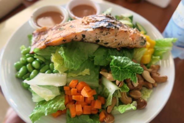 St Kitts Salmon Salad