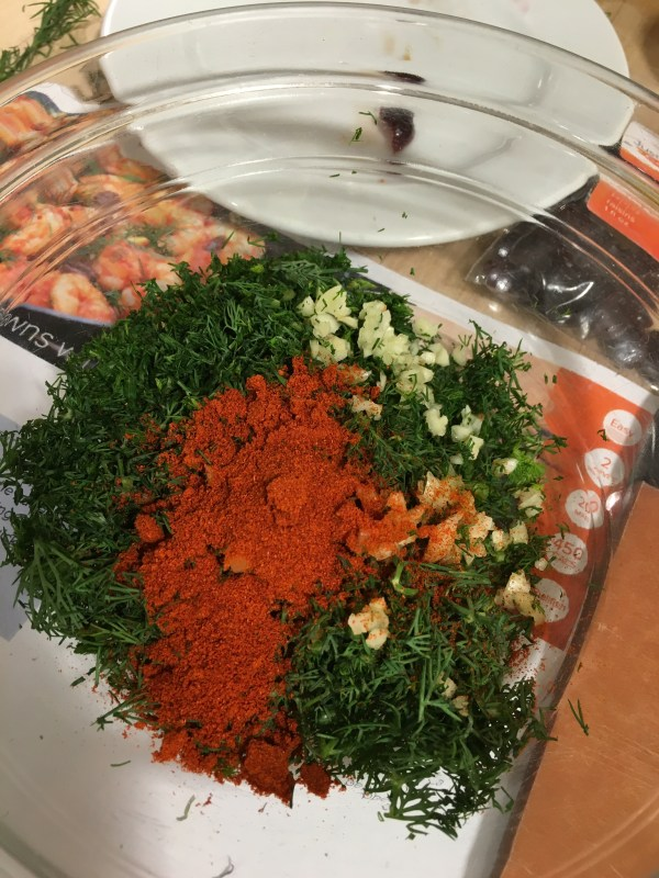 ingredients dill paprika