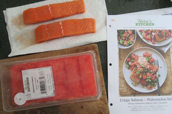 terras kitchen salmon watermelon