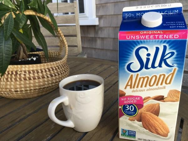 Silk Almond Milk Coffee