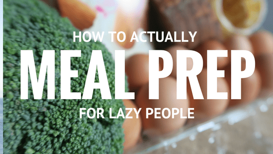Five Tips on How To Actually Meal Plan