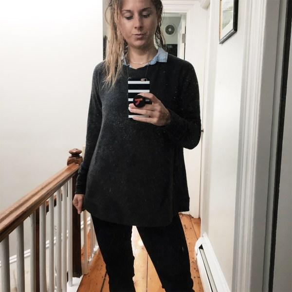 Stitch Fix Winter 2017 Grey Sweatshirt