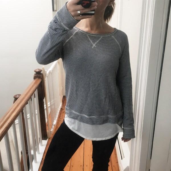 Stitch Fix Winter 2017 Soft Joie Sweatshirt