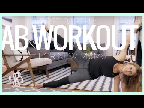 VIDEO: Postpartum Ab Workout, 7-Minutes