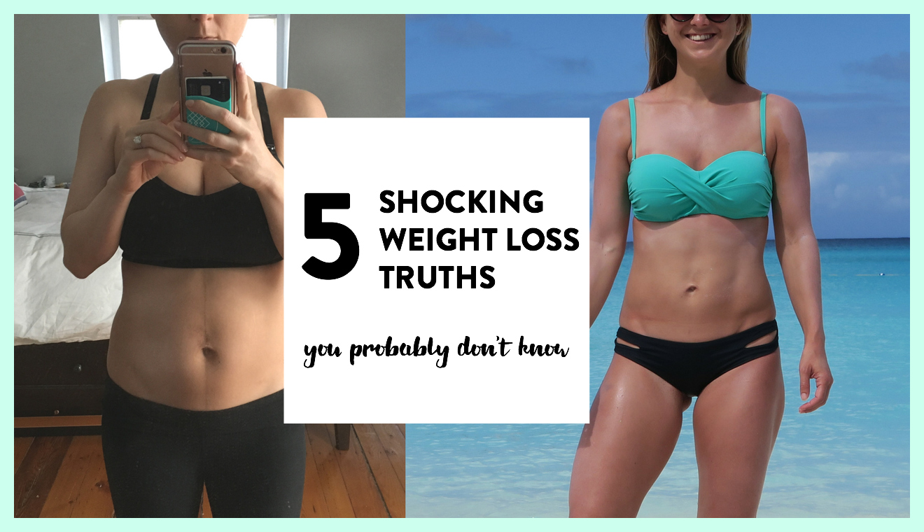 5 Shocking Weight Loss Truths You Don't Know   VIDEO