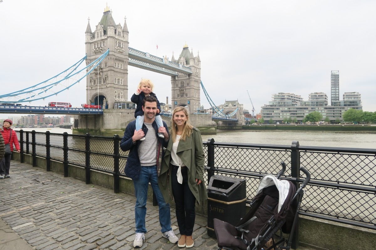 Our Family Travels In London with a Toddler