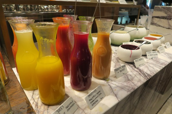 smoothies at brunch