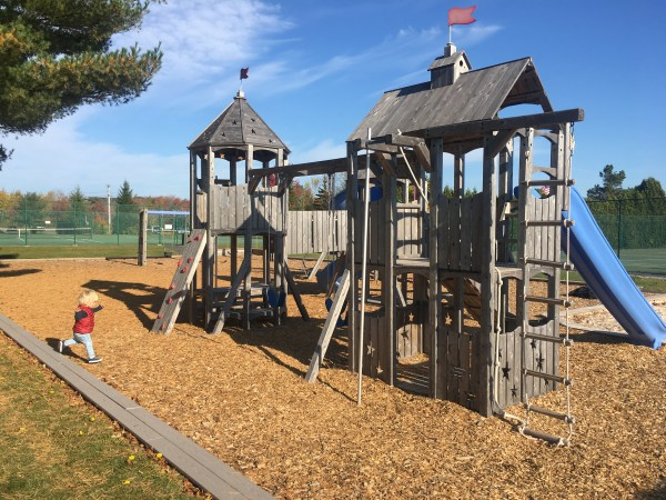 Playground at Somoset in Rockland