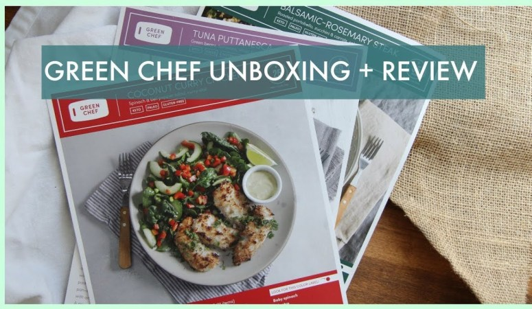 Green Chef Unboxing Video and Keto Plan Review