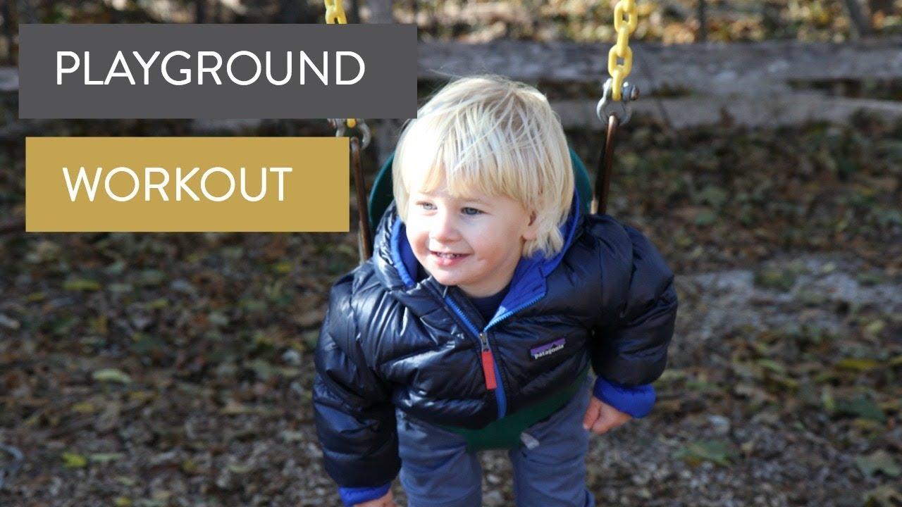 The 2 Year Sleep Regression & Fun Thanksgiving Playground Workout Video