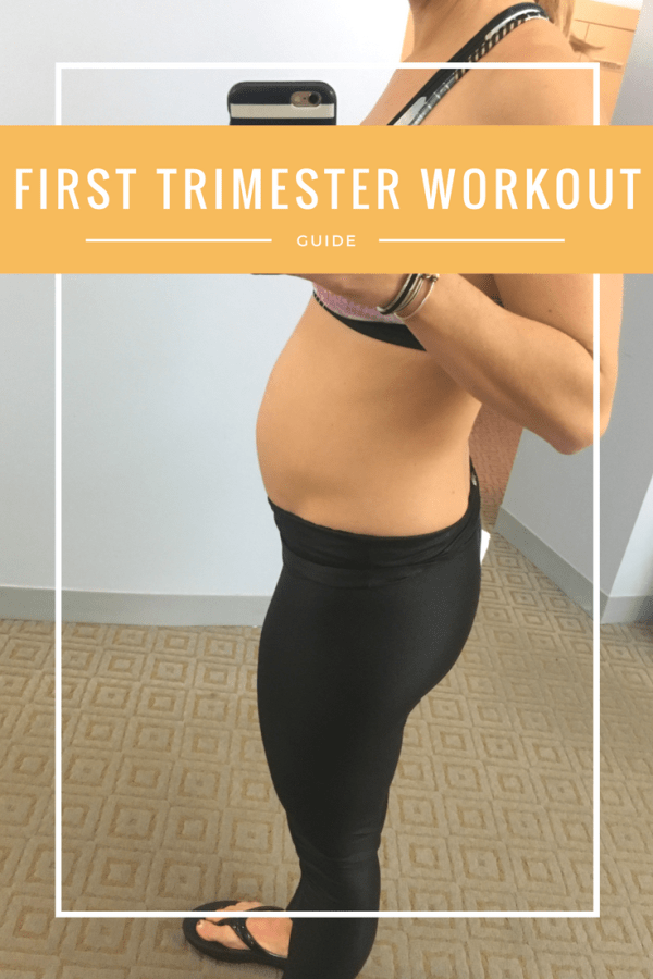 How To workout In the first trimester