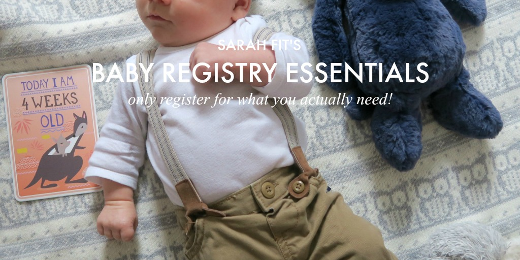My Ultimate Baby Registry Guide 2018