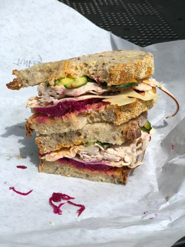 Turkey Sandwich Flour Bakery