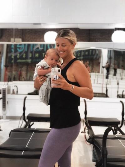 gym studio childcare in Boston