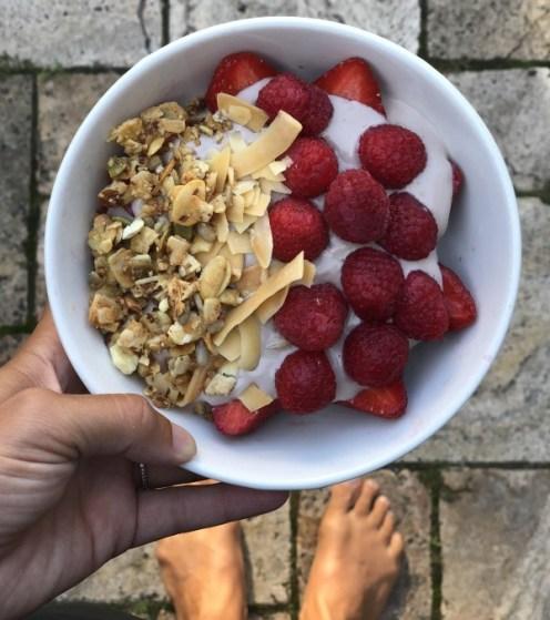 vega yogurt bowl vegan