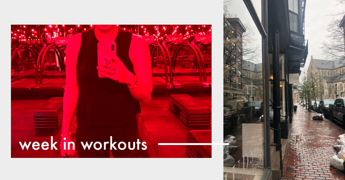 Week in Workouts – Thanksigivng 2018