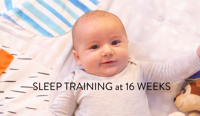 Sleep Training Connor