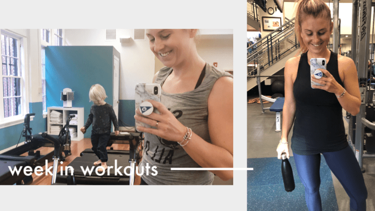 Week In Workouts – 5 Months Postpartum
