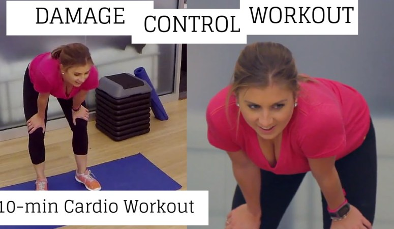 Damage Control Workout | 10-min Cardio Bodyweight Workout
