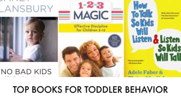 Best Toddler Behavior, Discipline and Help Books