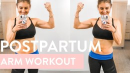 Postpartum Arms + Abs Workout