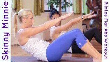 Skinny Minnie Mid Section: 5 minute Pilates Core Workout