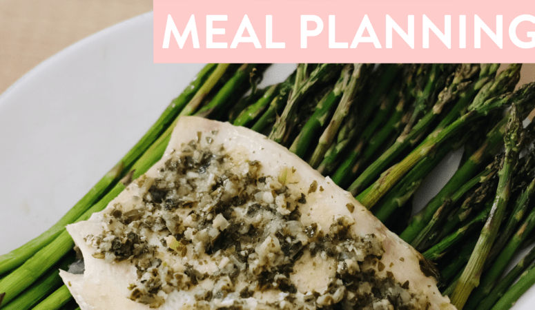 What's For Dinner? Meal Prep + Meal Planning for my FWTFL round