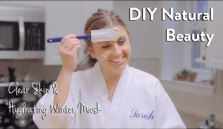 DIY Natural Winter Mask For Dry and Acne Prone Skin