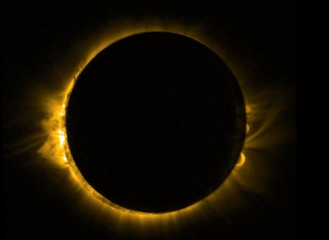 A G Vine New Moon Eclipses The Sun By Sarah Fuhro