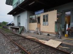 Die Verwandlung eines Bahnhofs