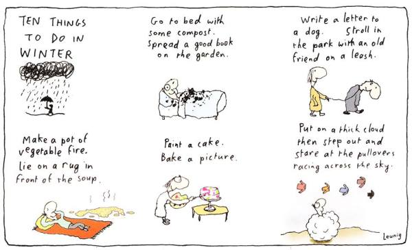 Winter leunig