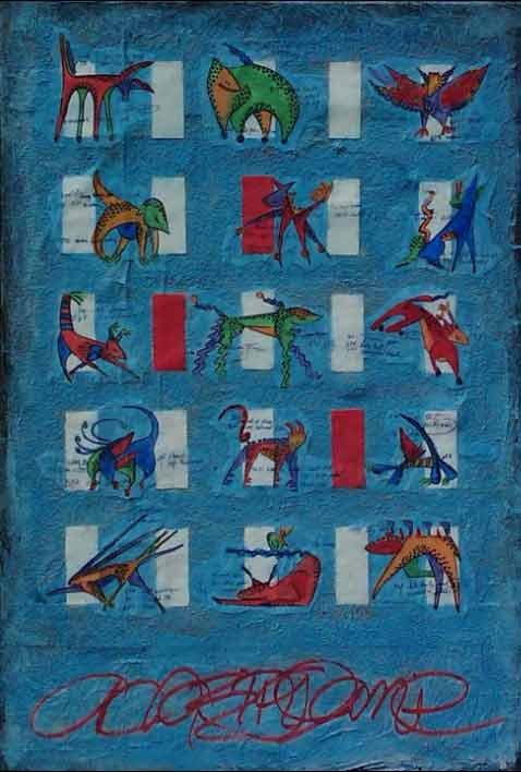 Blue Animals: