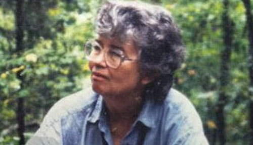 Sarah Gilbert Fox's mother, the lovely Betty Gilbert.