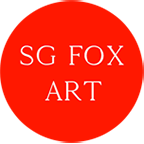 sarah gilbert fox fine art bookmark 144