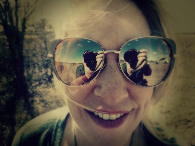 Sarah Hale Folger. glasses