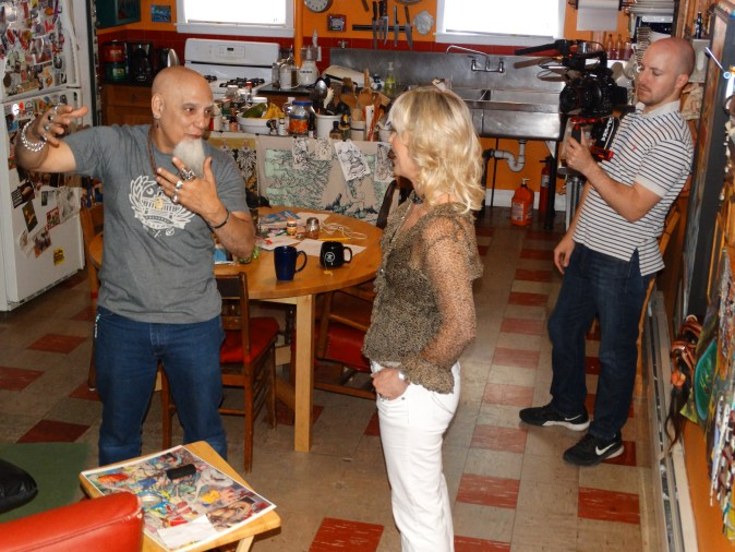 dsc07314 - A peek at my interview with RI Icon, Umberto (Bert) Crenca founder of AS220.