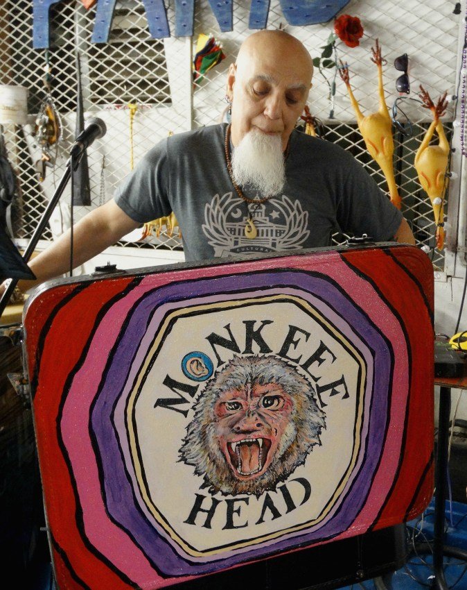 bert monkee head - Part 2 of my Conversation with RI Art Icon, Umberto Crenca.
